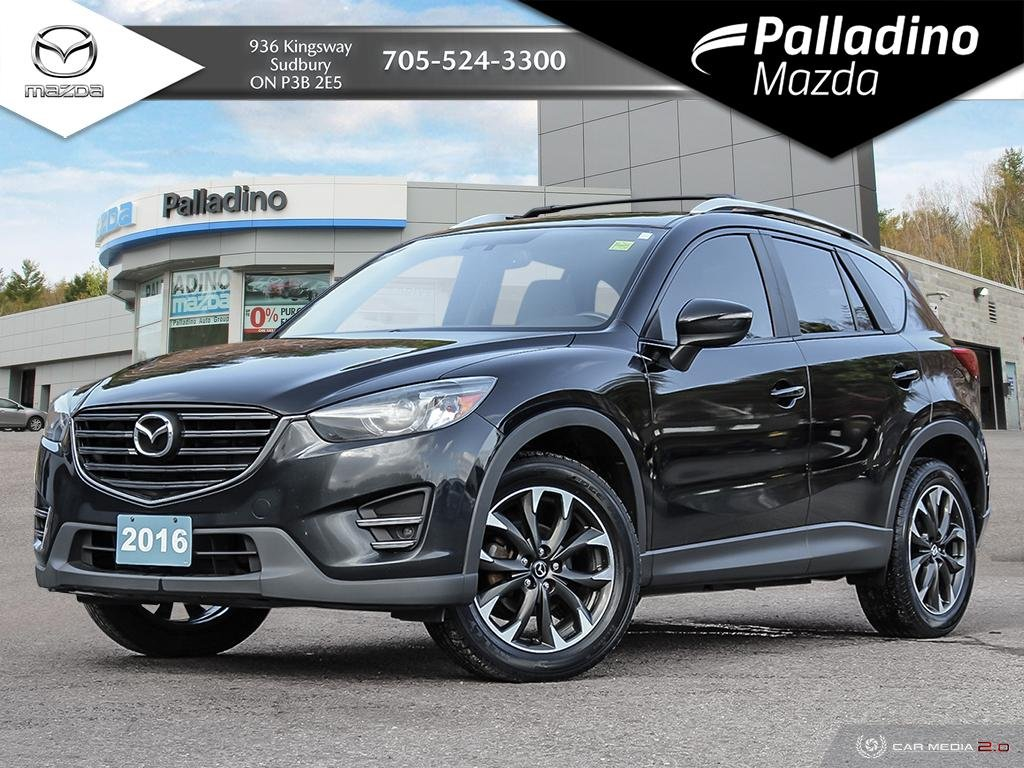 Pre-Owned 2016 Mazda CX-5 GT - BEAUTIFUL WHITE LEATHER INTERIOR - ALL WHEEL DRIVE