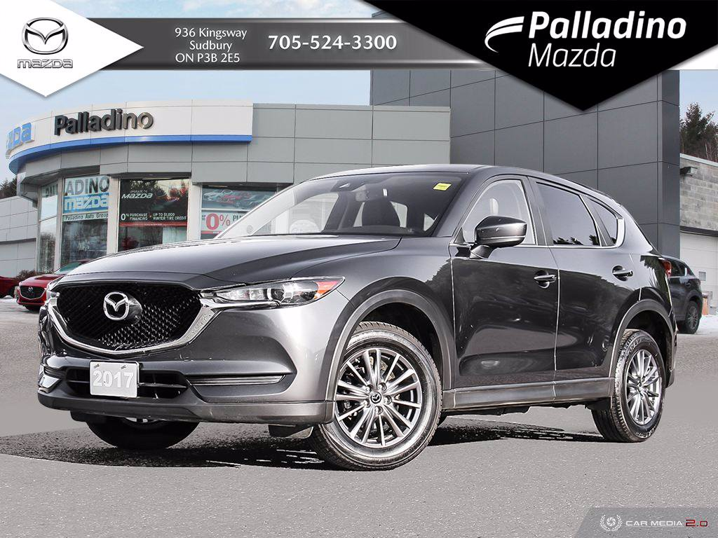 Pre-Owned 2017 Mazda CX-5 GS - COMFORT PKG - NO ACCIDENTS