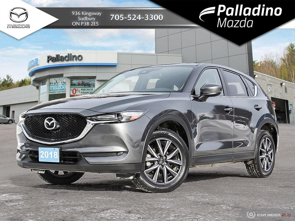 Pre-Owned 2018 Mazda CX-5 GT - NEW CX-5 INVENTORY DWINDLING - RARE FIND