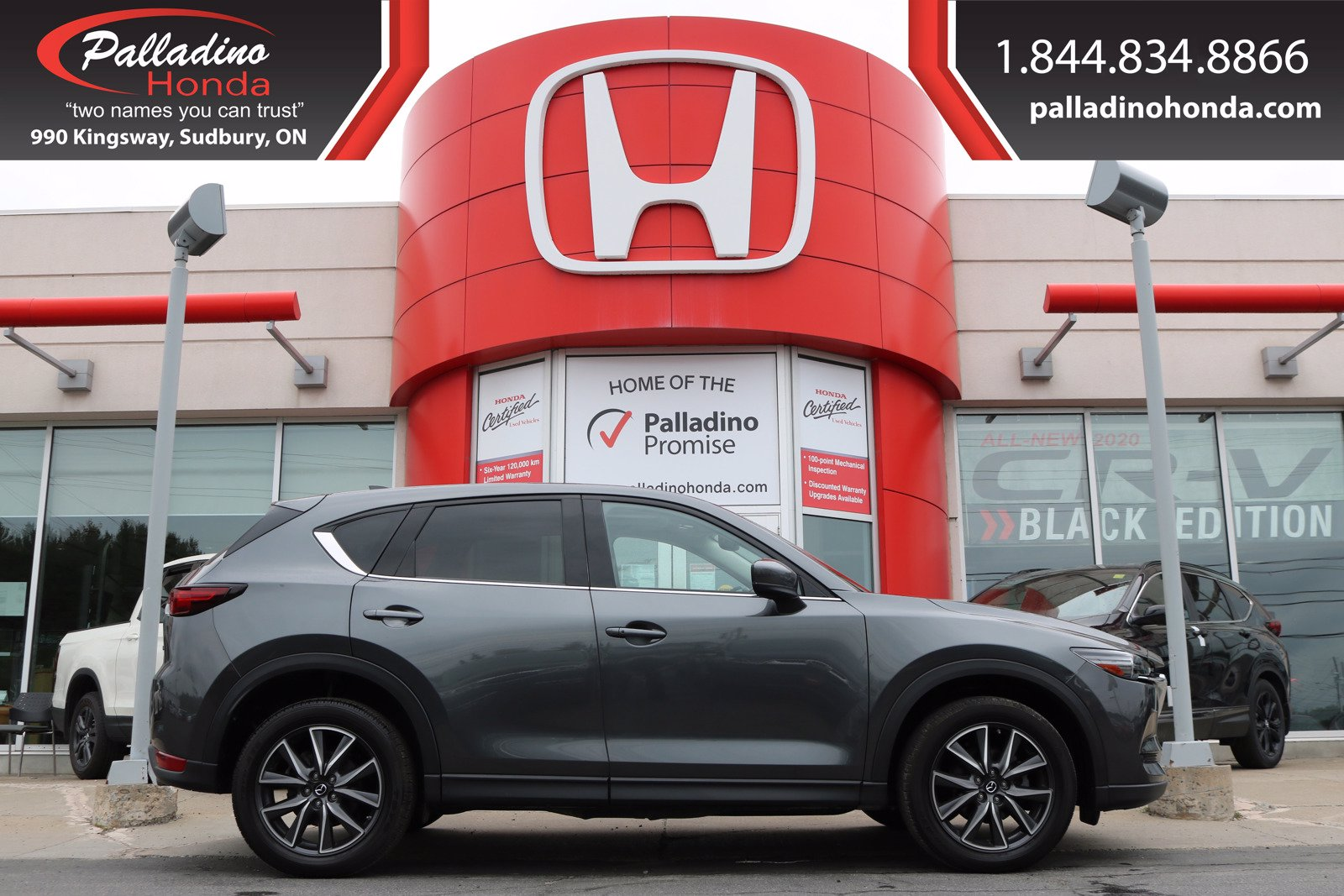 Pre-Owned 2018 Mazda CX-5 GT- ALL WHEEL DRIVE,HEATED LEATHER SEATS, HEATED STEERING WHEEL