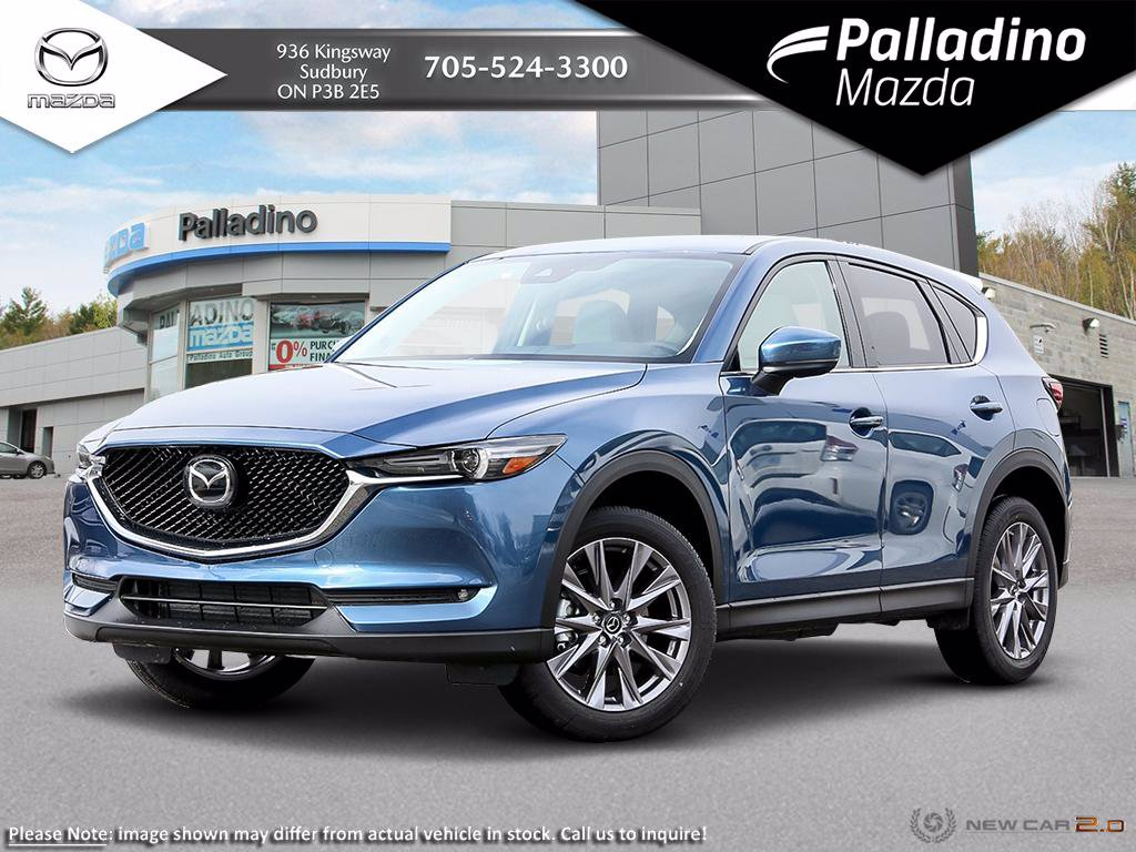 New 2020 Mazda CX-5 GT w/Turbo