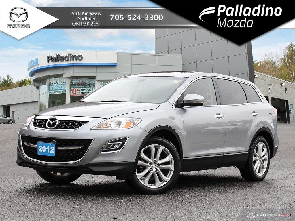 Pre-Owned 2012 Mazda CX-9 GT - EXTREMELY CLEAN - CERTIFIED