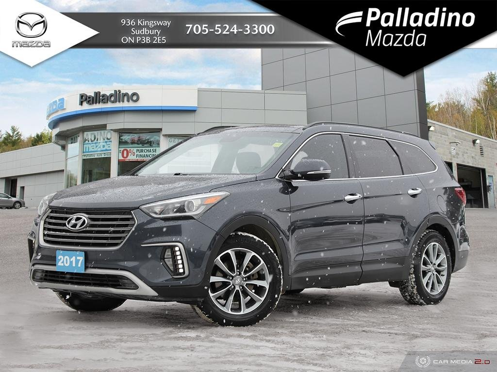 Pre-Owned 2017 Hyundai Santa Fe XL Luxury - 290 HP - 2ND ROW CAPTAINS CHAIRS - INFINITY SOUND
