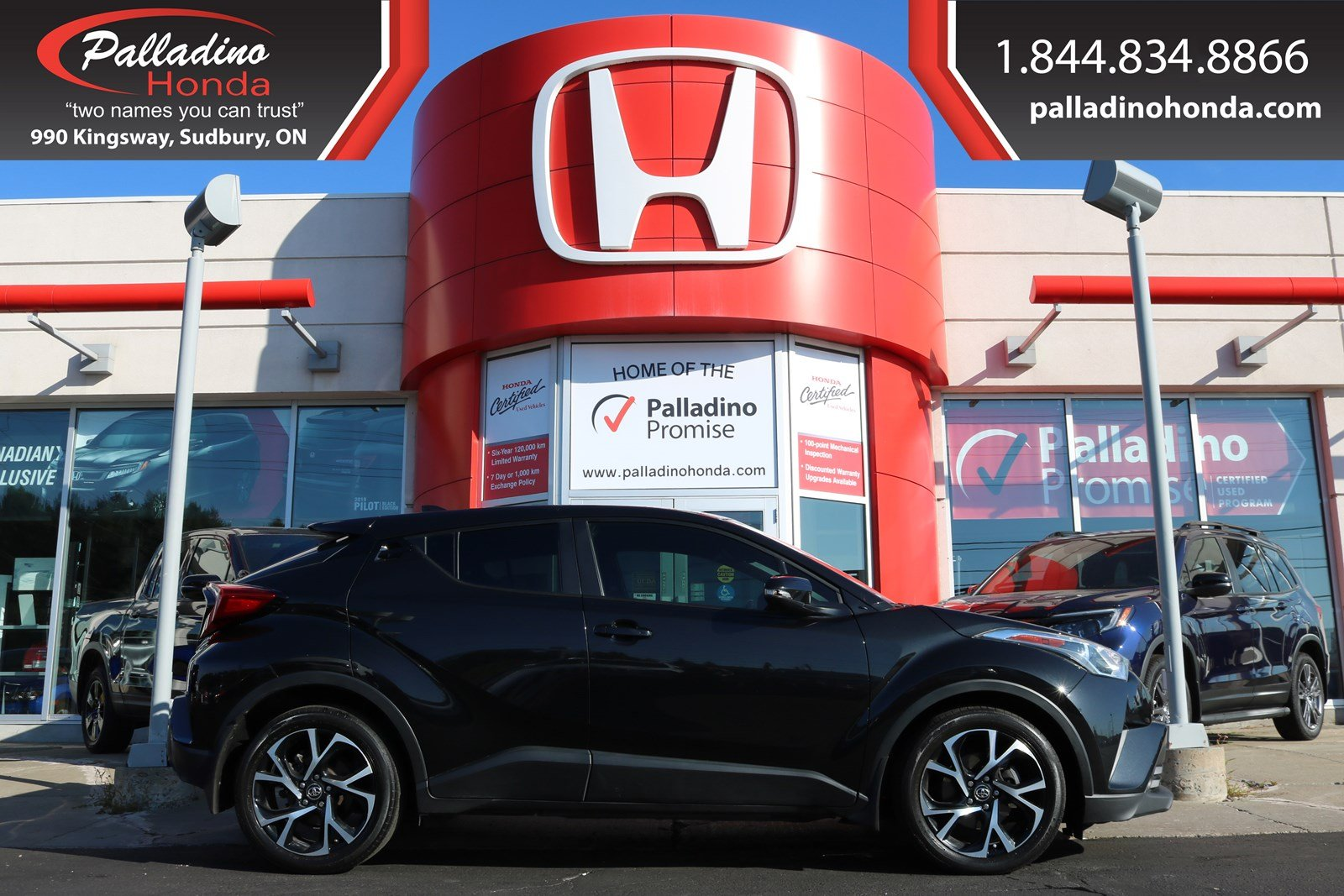 Pre-Owned 2018 Toyota C-HR XLE-TOYOTA SAFETY SENSING,BACKUP CAMERA,HEATED SEATS