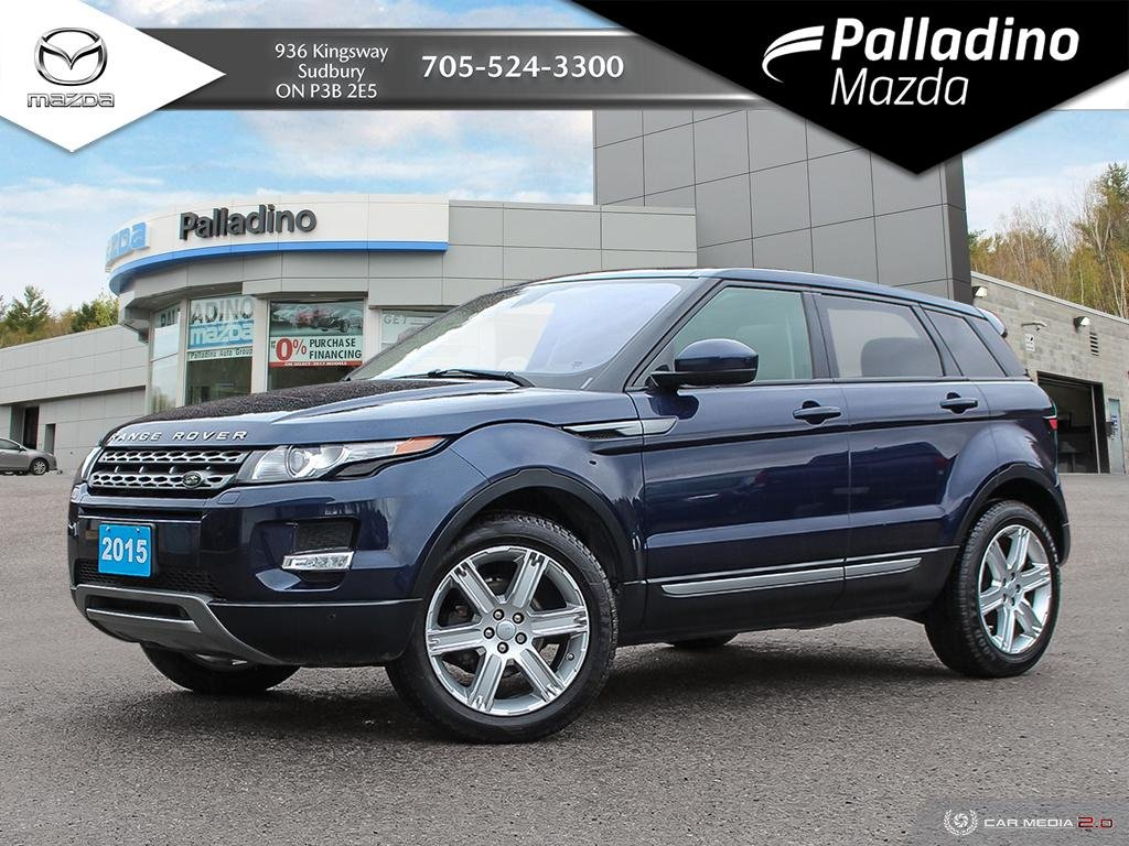 Pre-Owned 2015 Land Rover Range Rover Evoque Pure Plus - TONS OF POWER - AFFORDABLE LUXURY