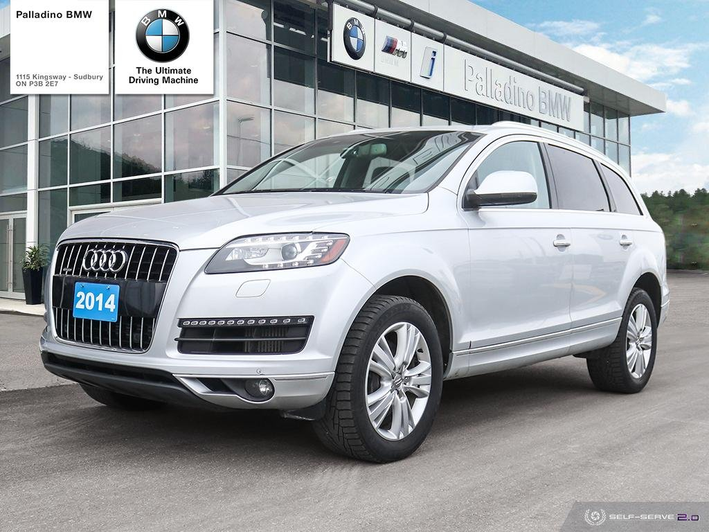Certified Pre-Owned 2014 Audi Q7 3.0L TDI Progressiv