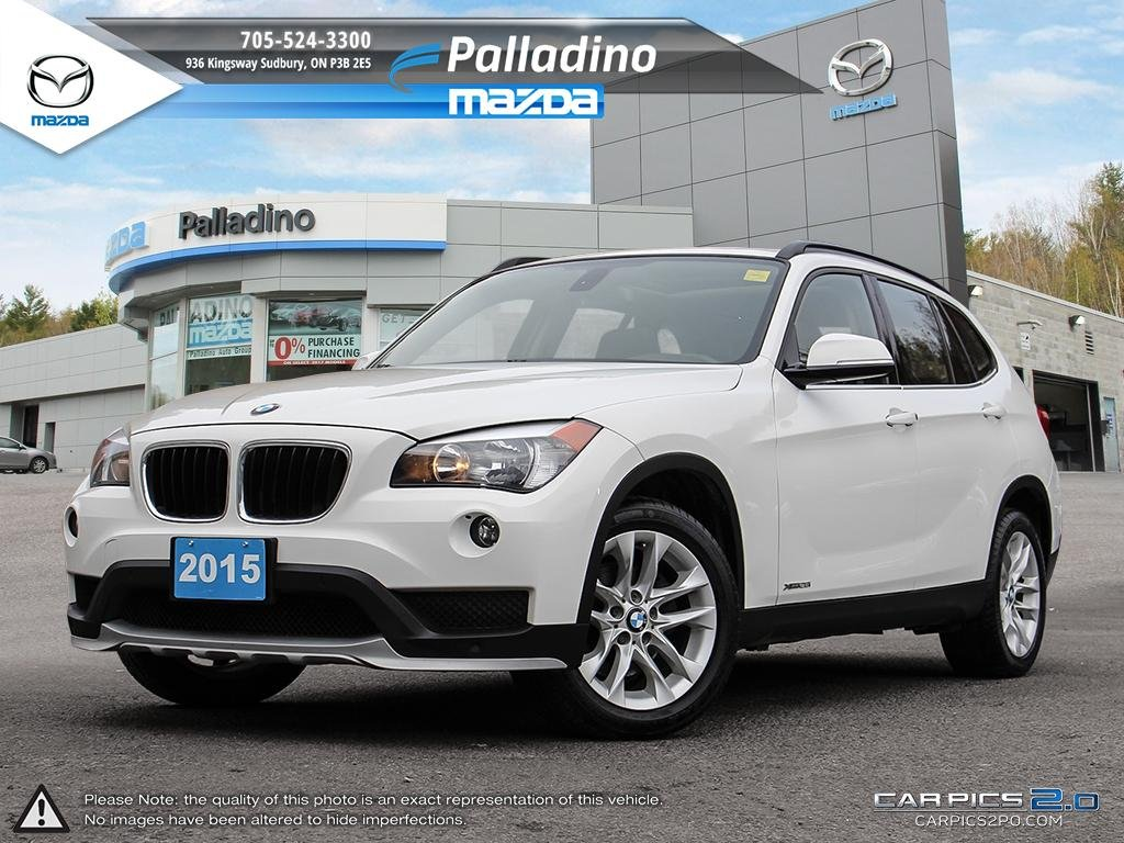 Certified Pre-Owned 2015 BMW X1 xDrive28i -NO ACCIDENTS- NEW BRAKES-