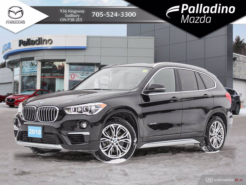 Pre-Owned 2018 BMW X1 xDrive28i - NO ACCIDENTS - VIDEO WALKAROUND AVAILABLE