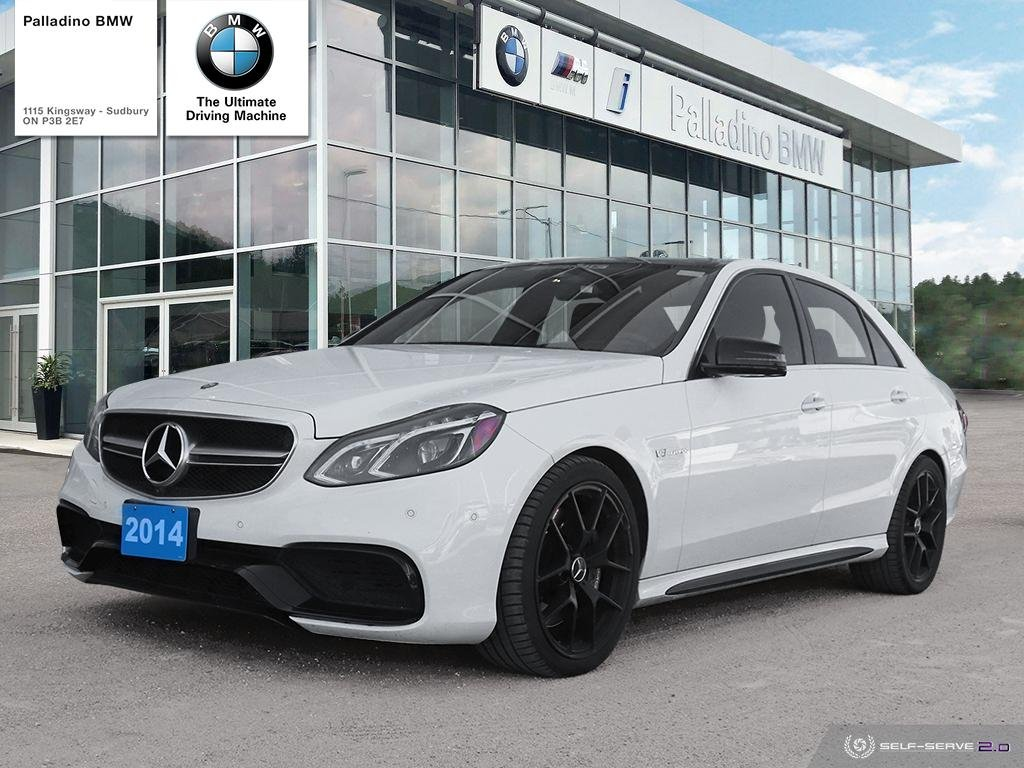 Certified Pre-Owned 2014 Mercedes-Benz E-Class E 63 AMG