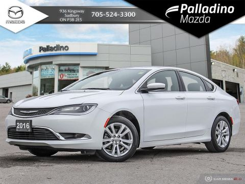 Pre-Owned 2016 Chrysler 200 Limited - 15 000 KM A YEAR! - LOW MILEAGE