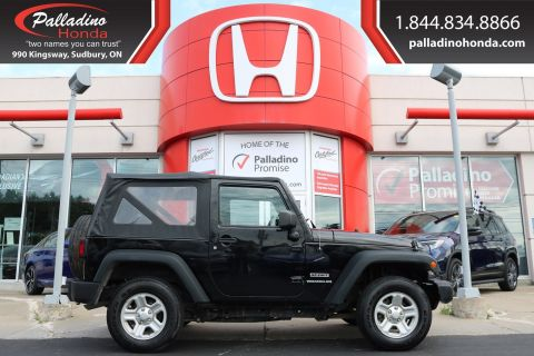 Pre-Owned 2015 Jeep Wrangler Sport-CONVERTABLE,V-6,4x4