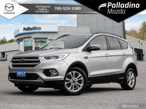 Pre-Owned 2017 Ford Escape SE - BACKUP CAM - NAV - CERTIFIED