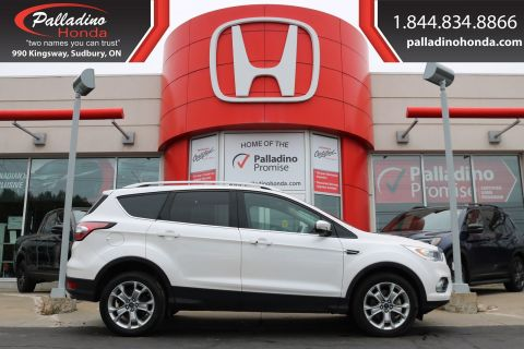 Pre-Owned 2018 Ford Escape Titanium-ALL WHEEL DRIVE, TURBOCHARGED, NAVIGATION