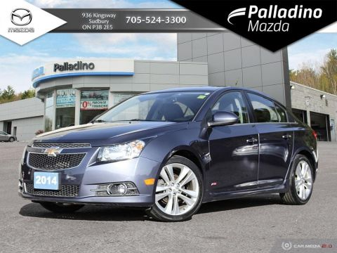 Pre-Owned 2014 Chevrolet Cruze LTZ - LEATHER - SUNROOF - NAV - HEATED SEATS