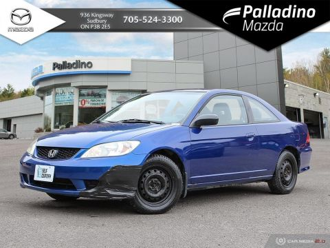 Pre-Owned 2005 Honda Civic Cpe LX - SELF CERTIFY