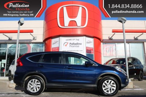 Pre-Owned 2016 Honda CR-V EX-ALL WHEEL DRIVE,HEATED SEATS,SMARTPHONE INTEGRATION