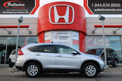 Pre-Owned 2015 Honda CR-V EX-ALL WHEEL DRIVE, BACKUP CAMERA, HEATED SEATS