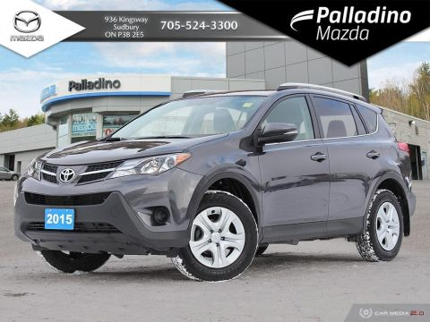 Pre-Owned 2015 Toyota RAV4 LE - HEATED SEATS - BLUETOOTH