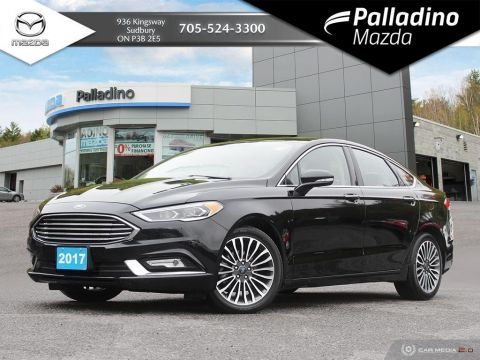 Pre-Owned 2017 Ford Fusion SE - LEATHER - BACKUP CAM - NAVIGATION