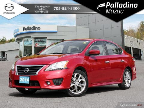 Pre-Owned 2014 Nissan Sentra SR - SPORTY SMALL SEDAN - GREAT FIRST CAR - CERTIFIED
