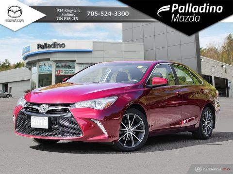 Pre-Owned 2016 Toyota Camry LEATHER TRIMMED SEATS - NAV