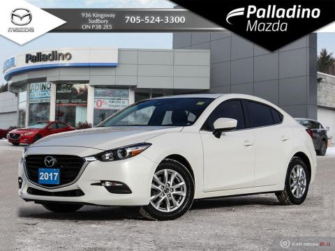 Pre-Owned 2017 Mazda3 GS - HEATED SEATS AND STEERING WHEEL - LOW KM'S