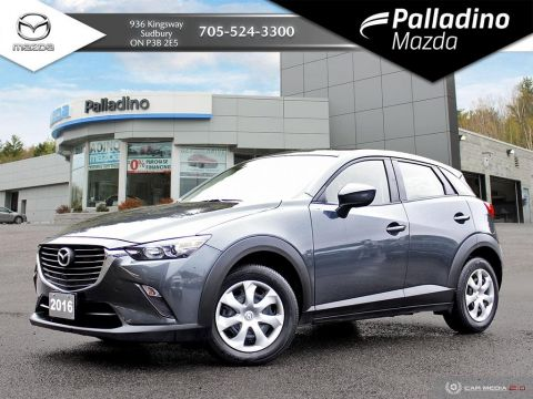 Pre-Owned 2016 Mazda CX-3 GX - LOW MILEAGE - ALL WHEEL DRIVE