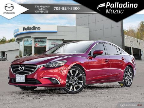 Pre-Owned 2016 Mazda6 GT - NAVIGATION - ONE OWNER - NO ACCIDENTS
