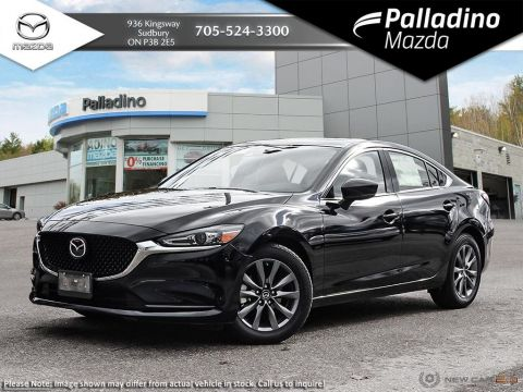 Pre-Owned 2018 Mazda6 GS-L - TURBO 4 CYLINDER