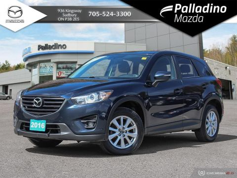 Pre-Owned 2016 Mazda CX-5 GS - TOP SAFETY PICK PLUS - CERTIFIED