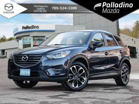 Pre-Owned 2016 Mazda CX-5 GT - FULL LEATHER - NAVIGATION - CERTIFIED