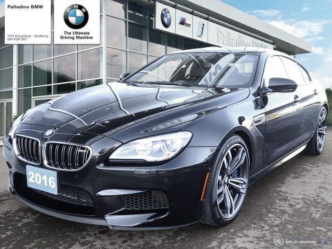 Certified Pre-Owned 2016 BMW M6 GRAN COUPE